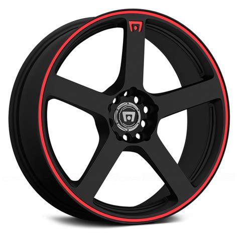 Mat Black Rims by Motegi Racing 174 Mr116 Wheels Matte Black With Stripe Rims