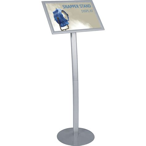 sign stands snapper aluminum sign stand w snap frame