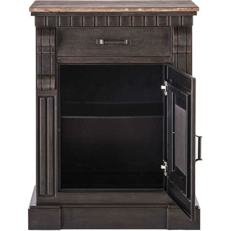 small iron sideboard buffet with rustic wood top buy