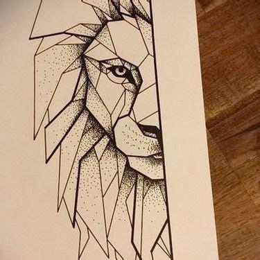 cartoon lion tattoo designs 51 amazing geometric tattoo designs face tattoos tattoo