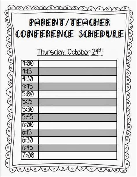 parent teacher conference forms montessori template parentteacher
