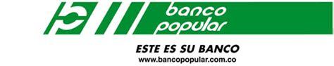 banco popular colombia banco popular sucursales oficinas horario