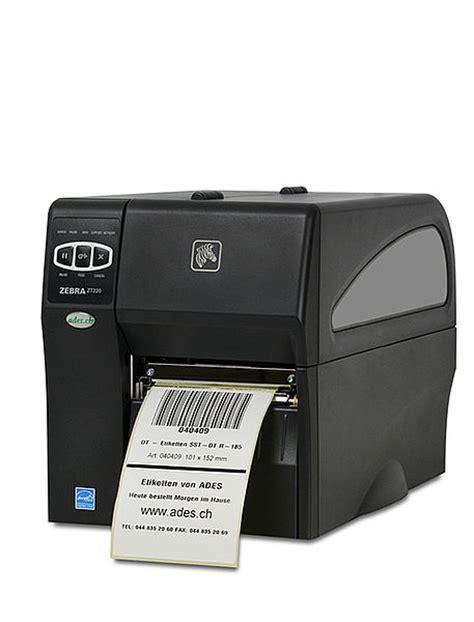 Etiketten Drucken Zebra by Zebra Zt220 Etikettendrucker Ades