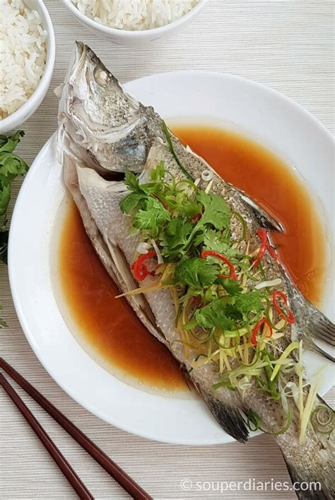 new year fish dish recipe steamed fish recipe cantonese style souper diaries