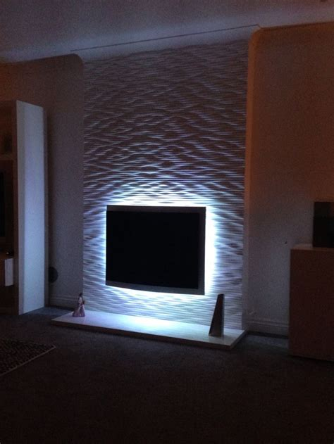 fireplace textured wall project  wall panels ideas