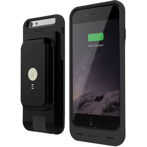 stacked stack pack for iphone 6 6s black si6cb01blk b h photo