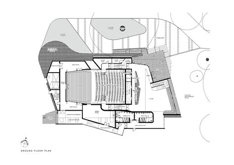 House Drawings Plans Gallery Of The Blyth Performing Arts Centre Stevens