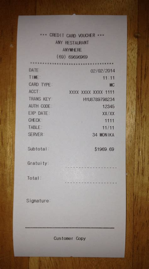 american restaurant receipt templates expressexpense custom receipt maker receipt