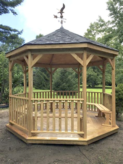 New Gazebo Troop 71 Eagle Project Gives Olma New Gazebo Manhasset Press
