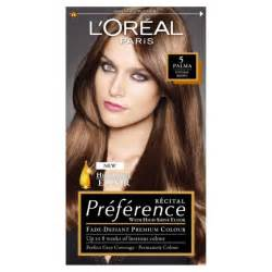 loreal preference colors 2x l oreal recital preference 5 palma brown