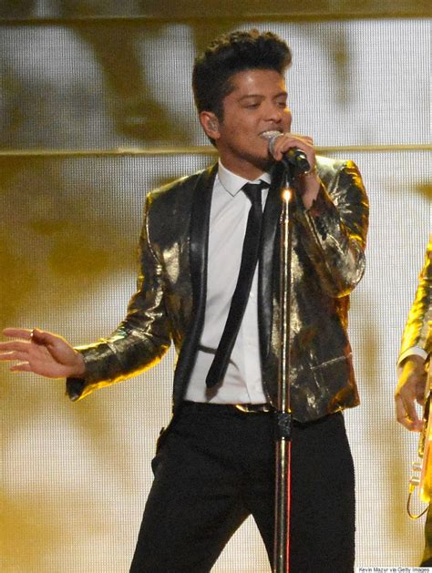 Bruni Jaket Bd bruno mars and his bowl squad wear versace to