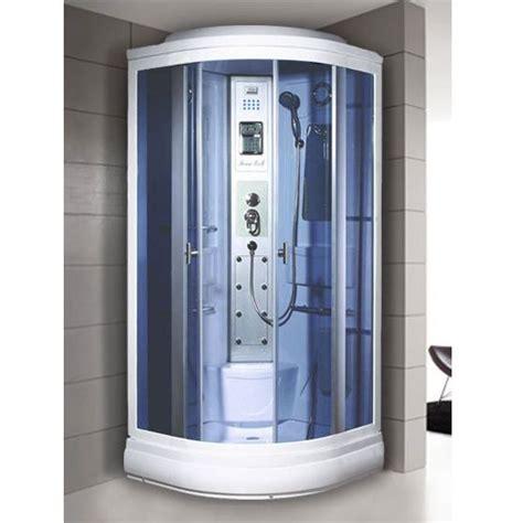 cabina doccia completa box idromassaggio 90x90cm cabina cromoterapia e bagno turco vi