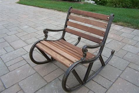 mellow out on an outdoor recliner metal outdoor rocking chairs home furniture design