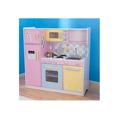 large play kitchen in pastel temple webster