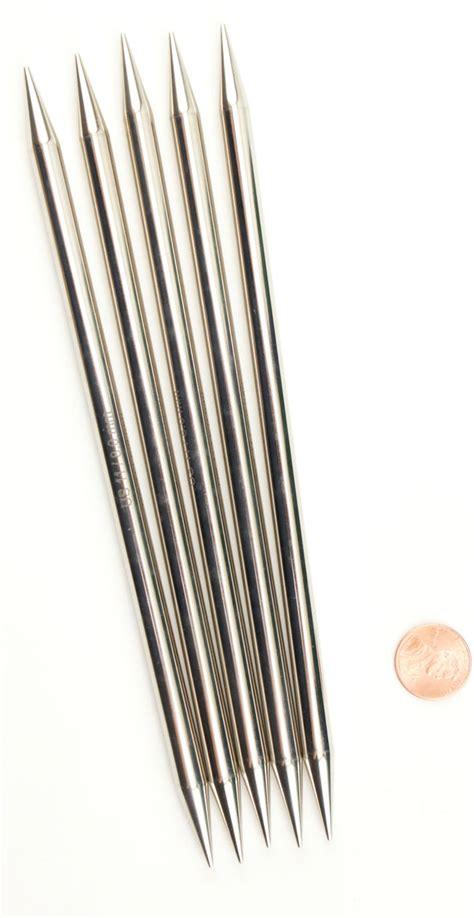 size 11 knitting needles platina 8 quot point size 11 knitting needles by