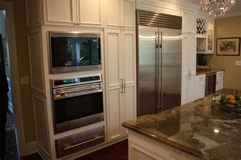 built in kitchen designs built in appliances traditional kitchen cleveland