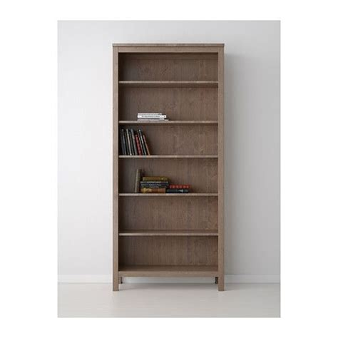 ikea hemnes bookcase gray brown solid wood bookcases ikea roselawnlutheran