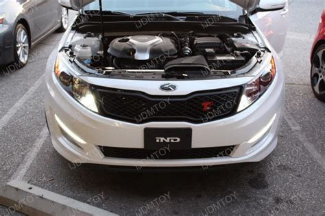 Kia Optima Led Running Lights Led Daytime Running Lights And Led Turn Signals On Kia