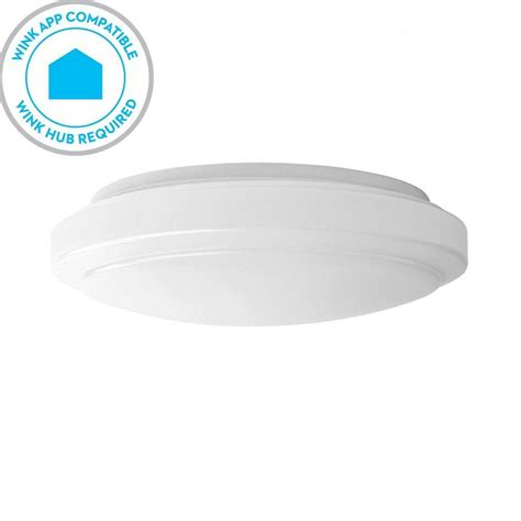 wink compatible ceiling fan hton bay wink compatible 12 in white led smart color
