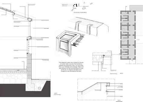 Corten Steel Detail Drawings