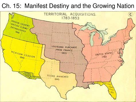 manifest destiny map process webquest for manifest destiny