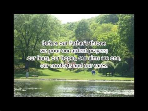 blest be the tie that binds with lyrics blest be the tie that binds hymn lyrics karaoke