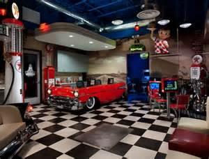 vintage garage decor new retro dining restaurant furniture dinette sets bar