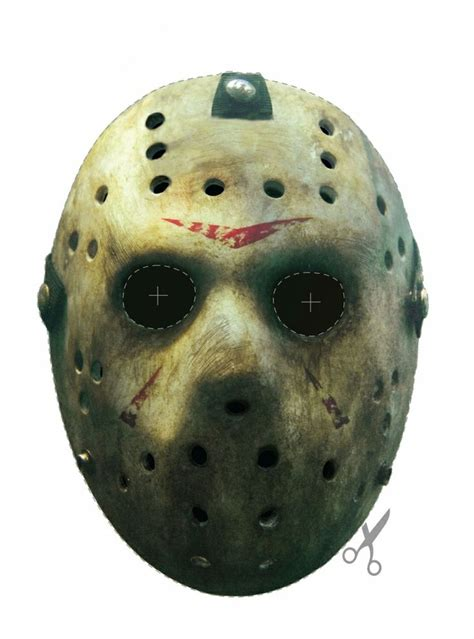 printable jason voorhees mask free friday the 13th jason vorhees hockey mask printable