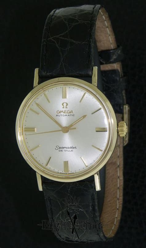 omega seamaster de ville auto km6292 pre owned mens watches