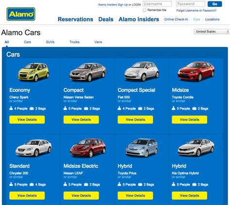 Car Types Alamo by Alamo Reviews Real Customer Reviews