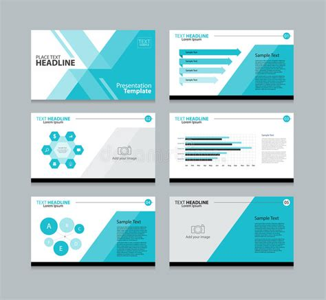 Element Layout Template Is Not Supported | page presentation layout design template stock vector