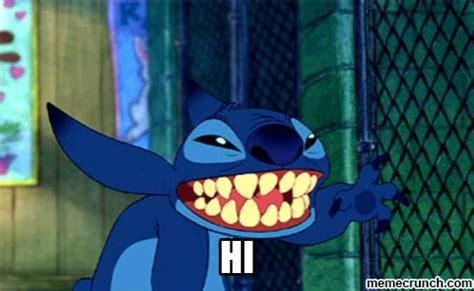 Stitch Hi Meme - stitch hi