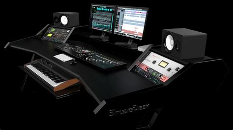 Studio Desk Cheap Best Home Design 2018 Recording Studio Desk Uk