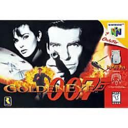 goldeneye 007 nintendo 64 game