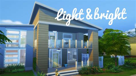 the sims 4 speed build move objects family home the sims 4 speed build light bright newcrest