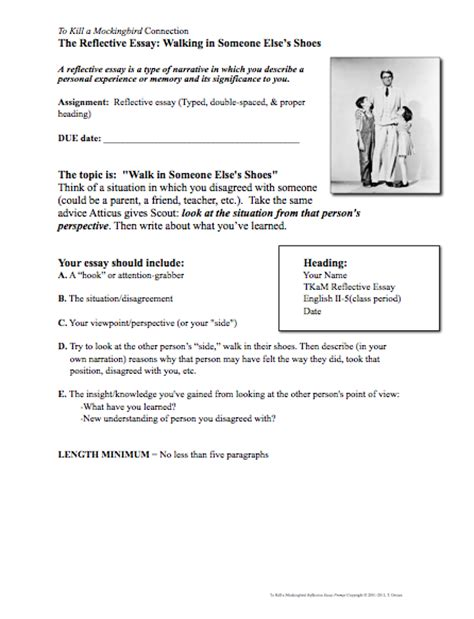 To Kill A Mockingbird Essay Prompts by Classroom Freebies To Kill A Mockingbird Writing Activity