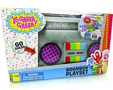 Yo Gabba Gabba Boombox Carry Playset   Buy Online in UAE