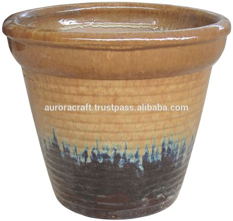 large glazed ceramic planter large glazed ceramic garden