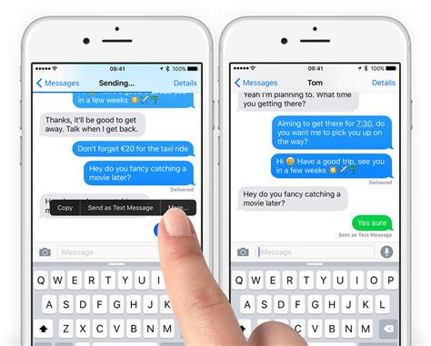 guide send an imessage as a text ios 9 tapsmart