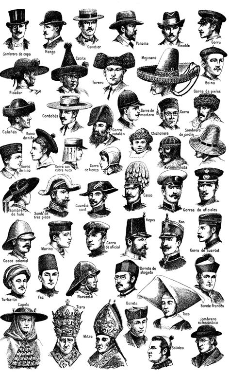 history of hairstyles chart the handmade hat history and style artizan made