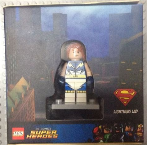 faster than lightning lego dc comics heroes activity book with minifigure lego dc heroes books lego 5004077 minifigures exclusive set lightning lad