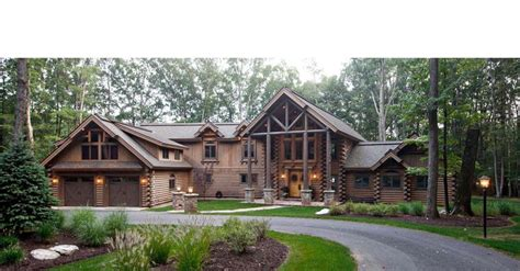 Log Cabin Homes New York luxury mountain log homes earth
