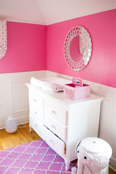 pink toddler bedroom ideas modern chic nursery hot pink nursery pink bedroom for 16757 | f2ee66017bd86afd99411711c208235c