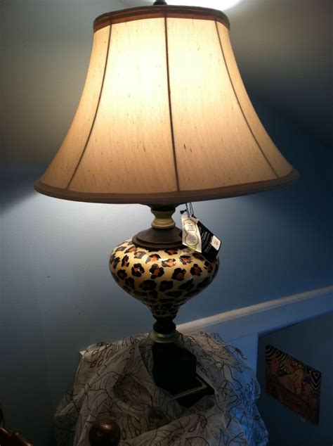 animal print l shades animal print l w shade lighting pinterest