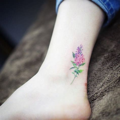 lilac flower tattoo designs lilac by sol b o d y a r t