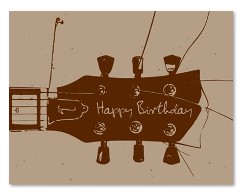 printable birthday cards with guitars quotes by v v brown like success