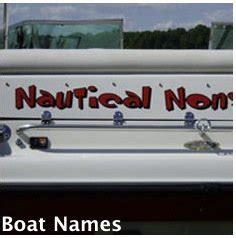 house boat names custom houseboat graphics vinyl numbers names logos