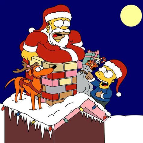 imagenes navidad de los simpson dibujos animados de navidad