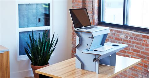 diy ergonomic desk 20 standing desk means no more ikea diy hacks quitting