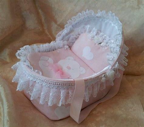 reborn baby beds handmade 8 quot pink crib cradle for ooak reborn baby doll